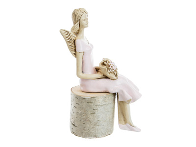 Angel Pauline (Pink) -  20 x 9 cm decorative figurine