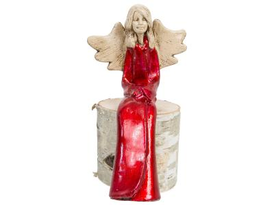 Angel Agnes -  20 x 9 cm decorative figurine