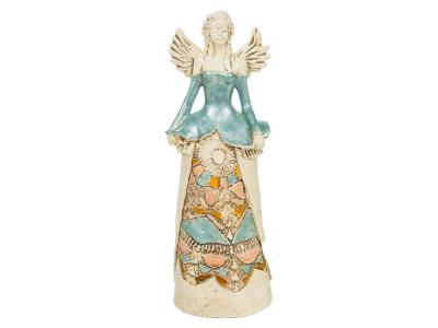 Angel Anna (Mint) -  30 x 14 cm decorative figurine