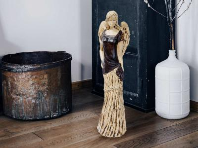 Angel Victoria (Brown) -  62 x 19 cm decorative figurine