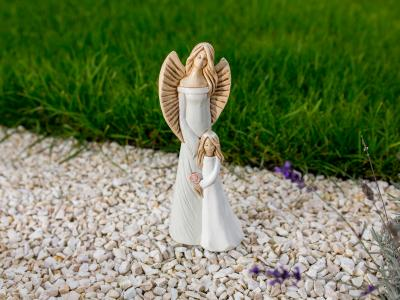 Angels Hannah & Evelyn -  32 x 15 cm decorative figurine