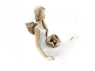 Angel Matilda (White) -  15 cm decorative figurine