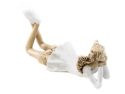 Angel Dixie (White) -  15 cm decorative figurine