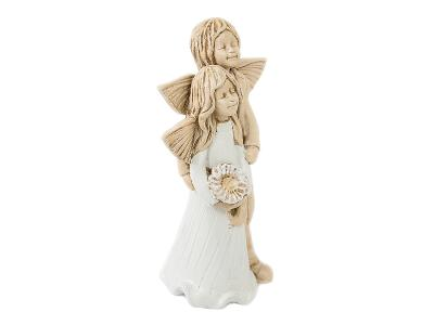 Angel Allen & Alice -  25 x 14 cm decorative figurine