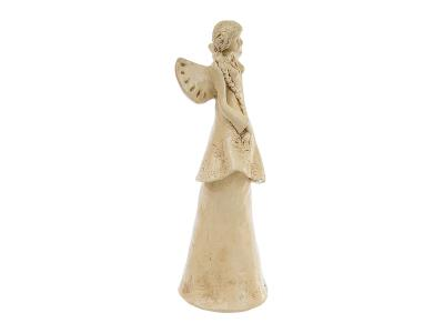 Angel Arianna (Beige) -  35 x 15 cm decorative figurine