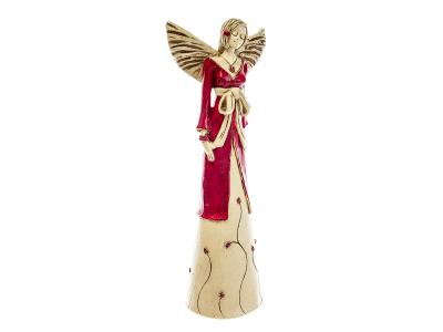 Angel Lily (Red) -  35 x 15 cm decorative figurine