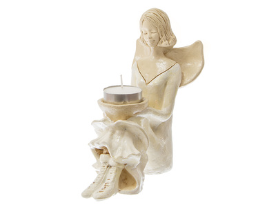 Angel Marion (Creamy) -  15 cm decorative figurine