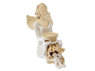 Angel Marion (White) -  15 cm decorative figurine
