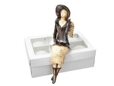 Angel Megan (Mat Brown) -  20 x 9 cm decorative figurine