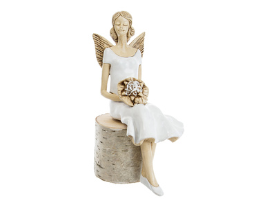 Angel Pauline -  20 x 9 cm decorative figurine