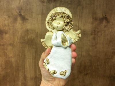 Angel  Aga -  16 x 10 cm decorative figurine