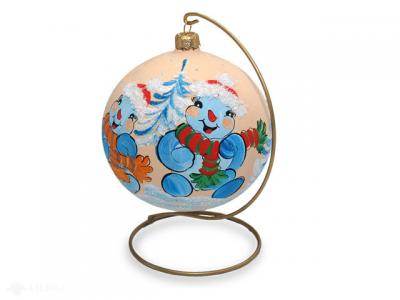 Stand hanger christmas ball small -  100 mm 110 mm 120 mm