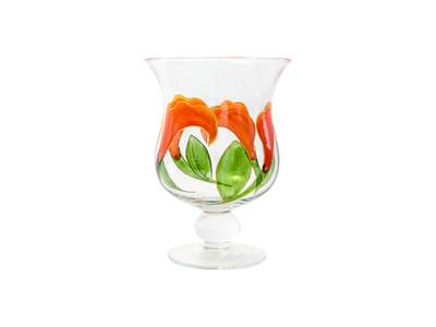 Candle Holder Callas XL + Candle -  19 x 14 cm