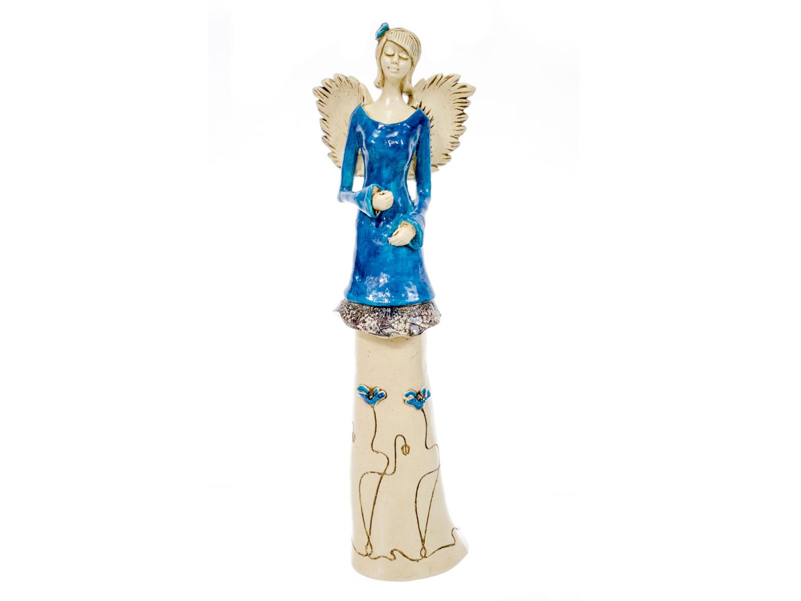 Angel Mia (Turque) -  40 x 16 cm decorative figurine